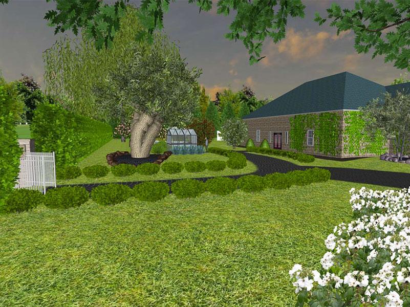Progettazione 3d verdeacqua for Progettazione giardini software